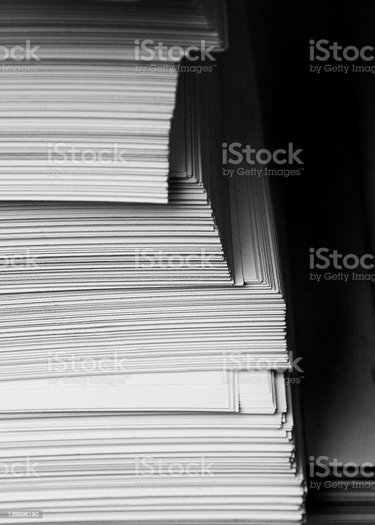 The paper stock photo