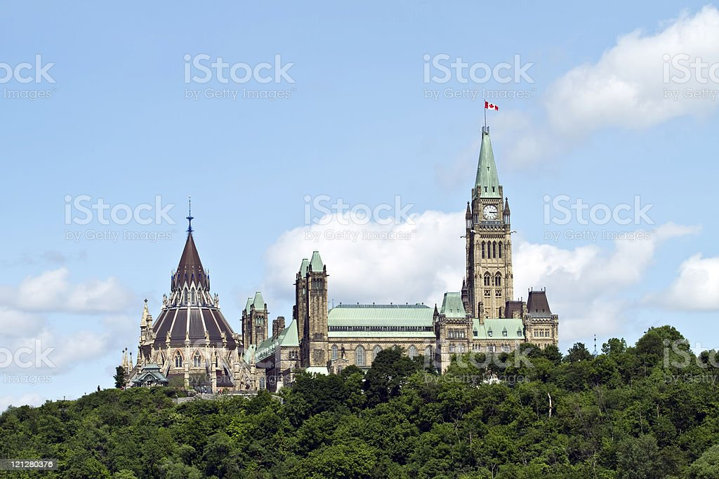 The Parliament Buildings stock photo