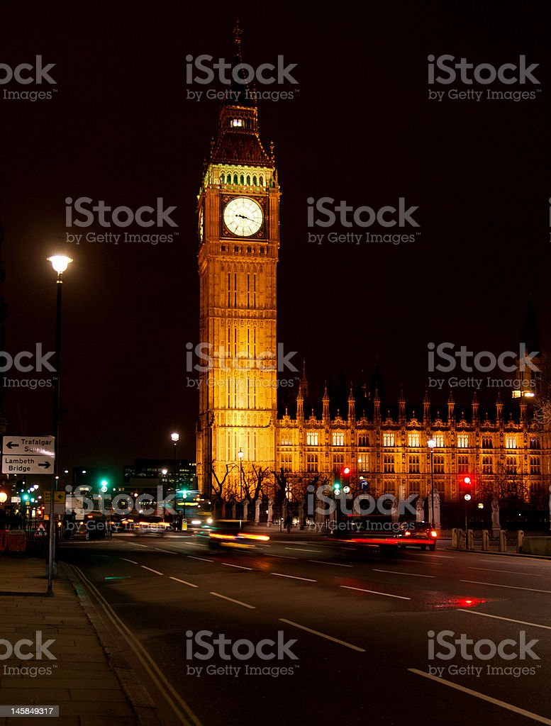 The Parliament stock photo