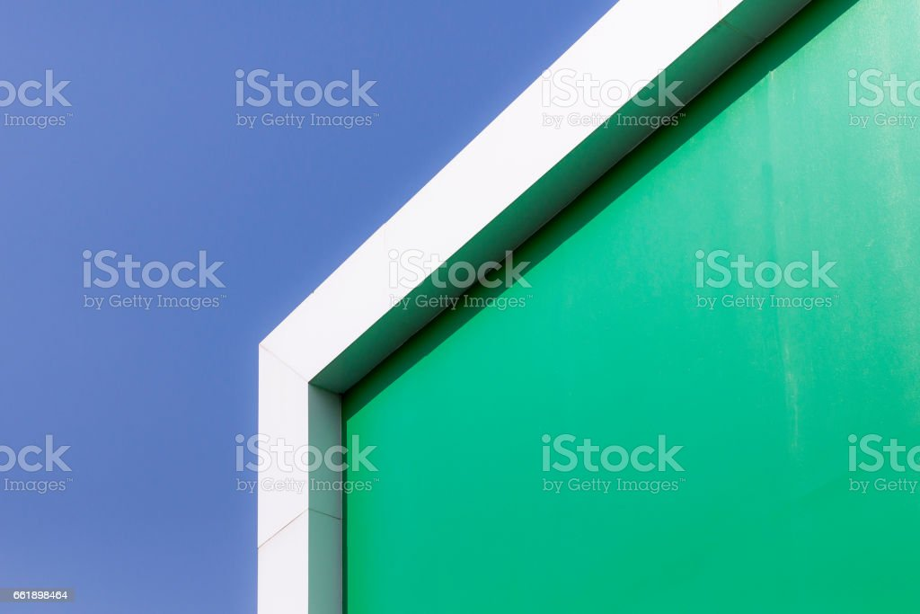 The part of green building stock photo