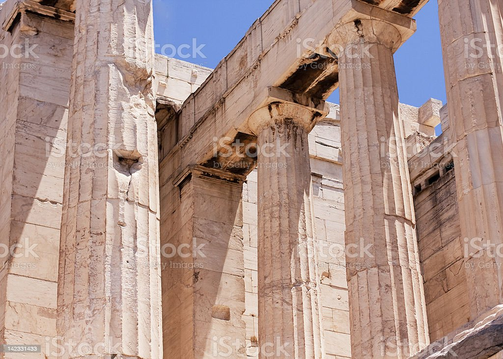 The Parthenon, Athens. royalty-free stock photo