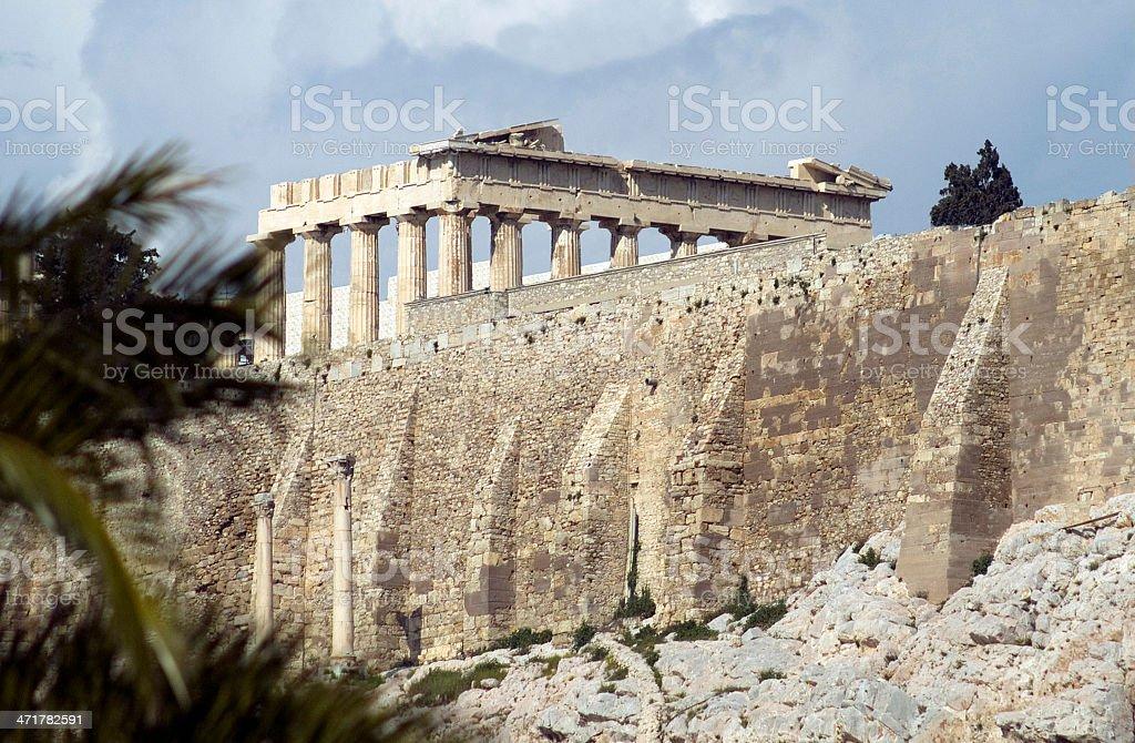 The Parthenon - Athens royalty-free stock photo