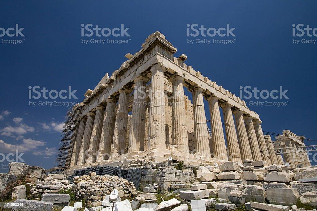 The Parthenon stock photo