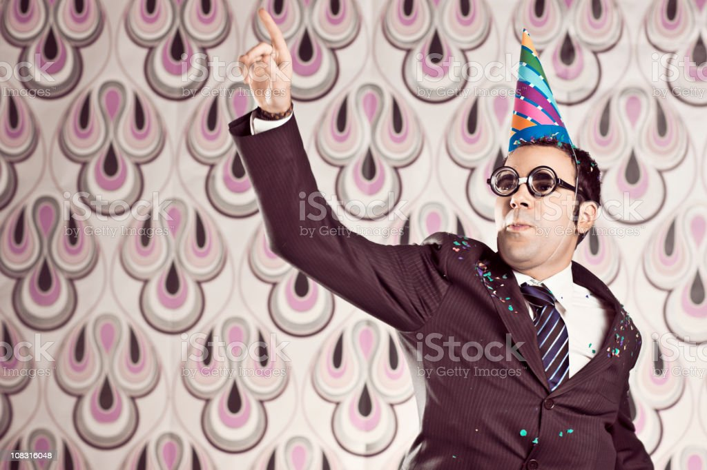 The party is on stock photo