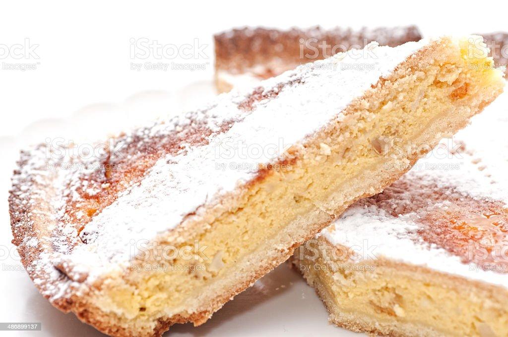 The pastiera, Neapolitan Easter Cake stock photo