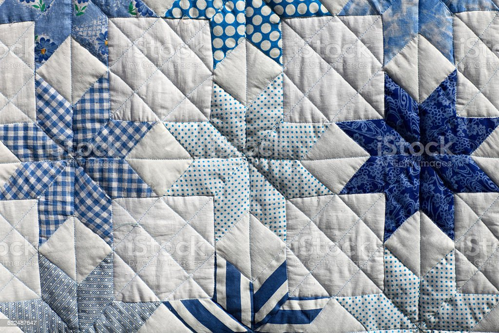 The patchwork stock photo