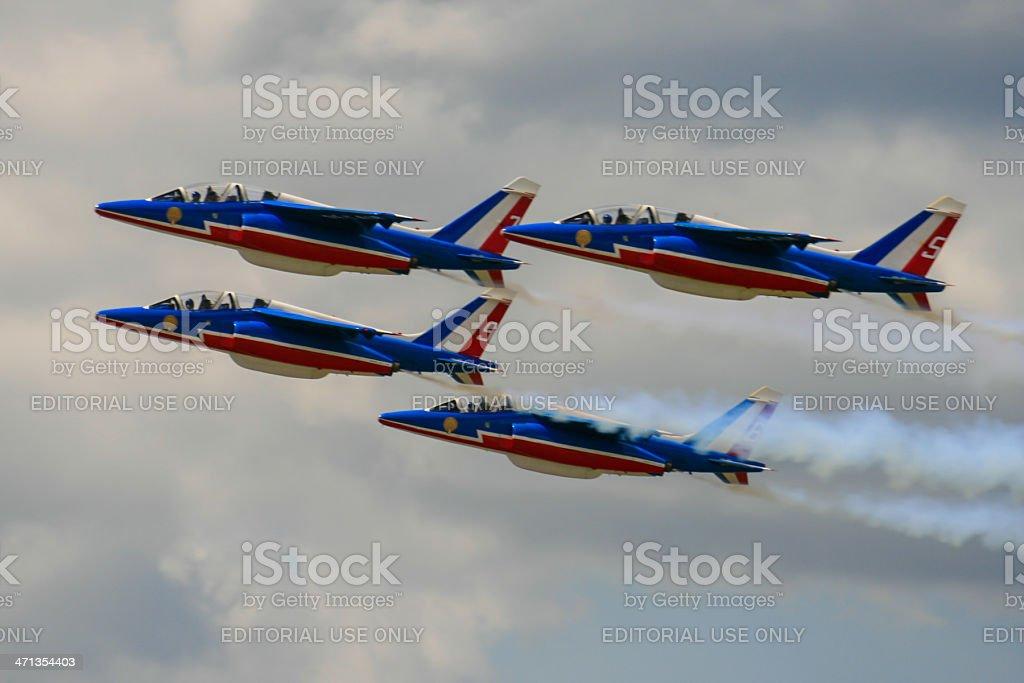 La patrouille de France stock photo