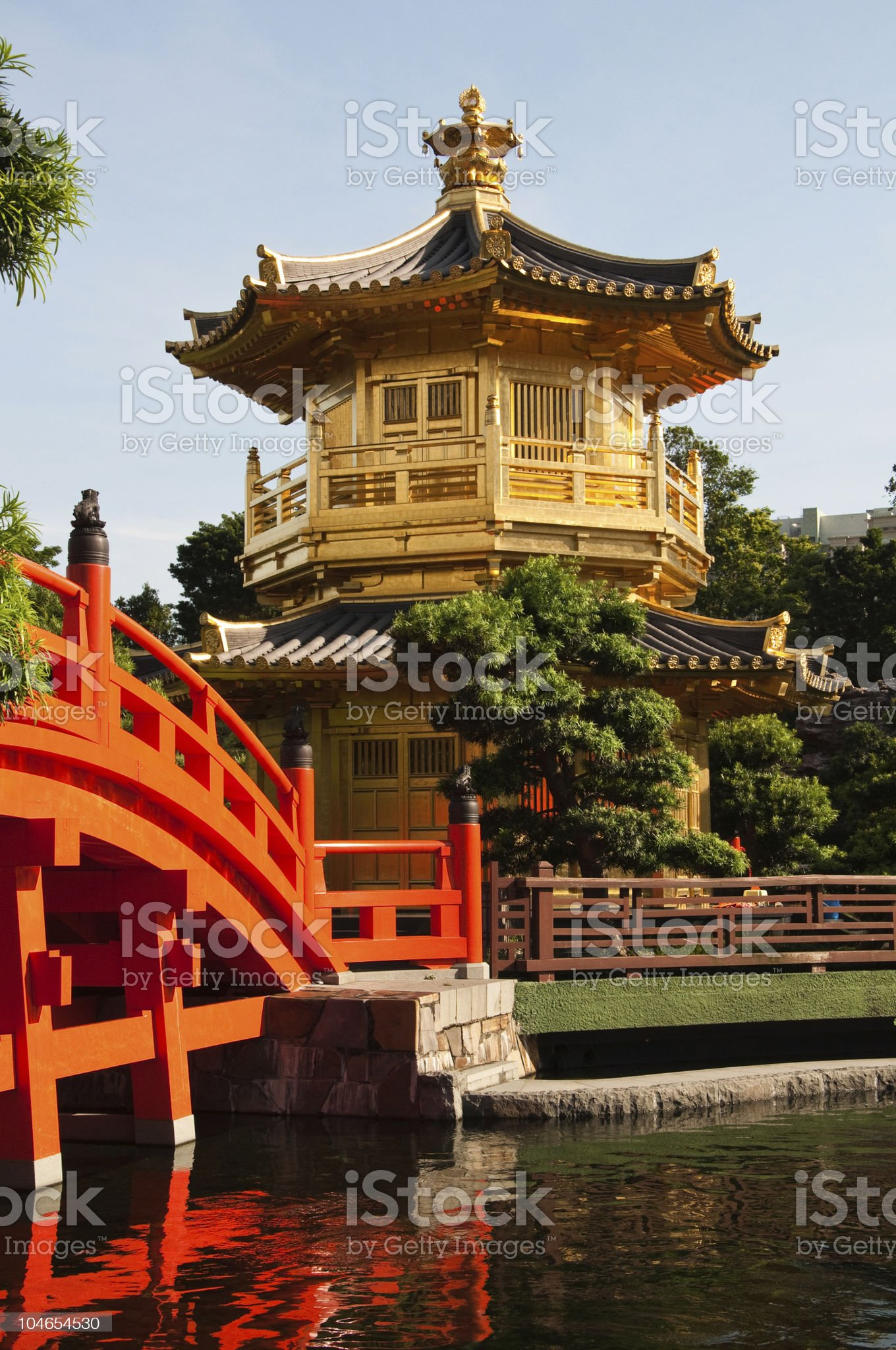 The Pavilion of Absolute Perfection. royalty-free stock photo