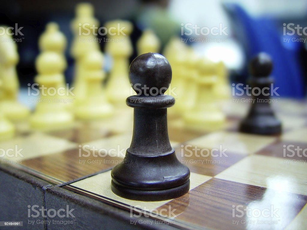 The Pawn stock photo