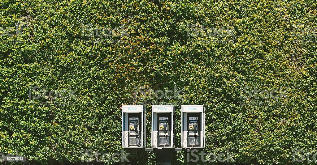 the pay phone royalty-free stock photo