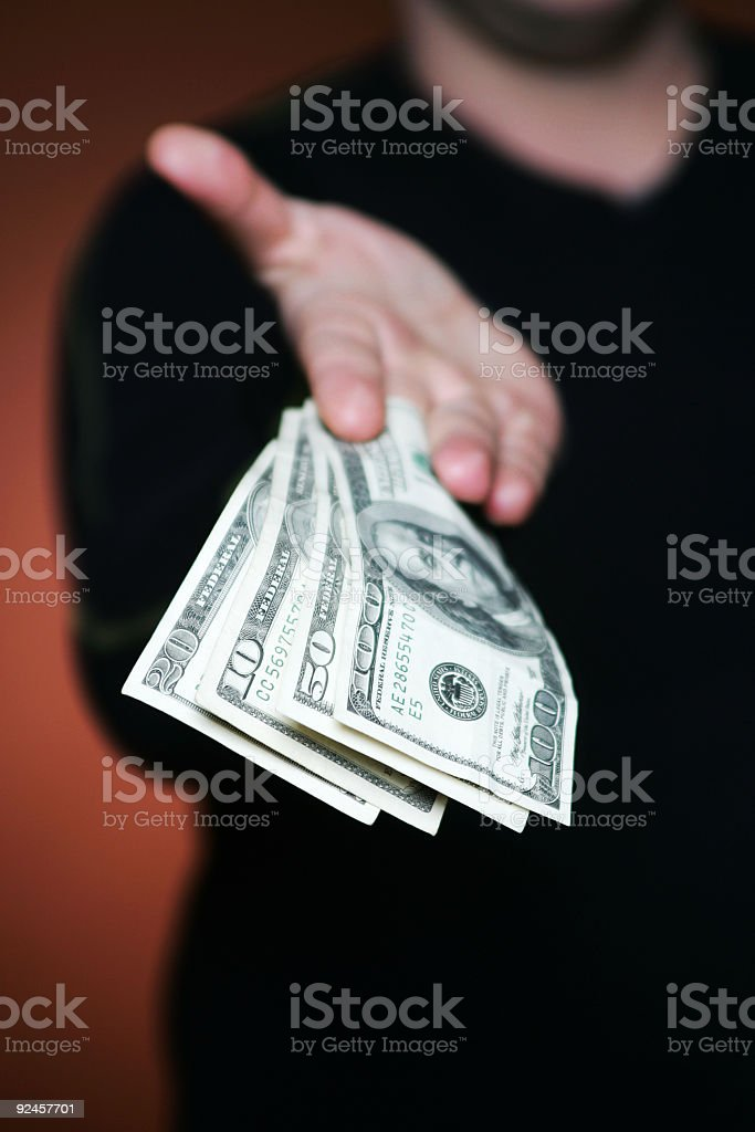 the payout royalty-free stock photo