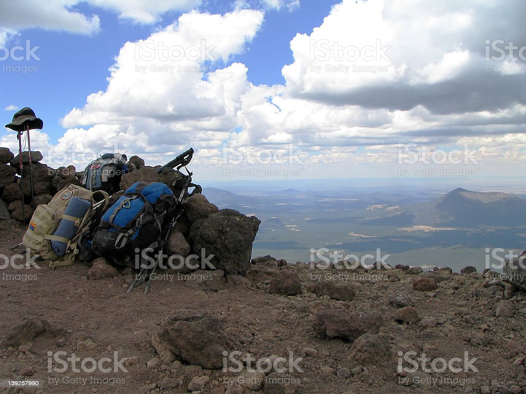The Peak stock photo