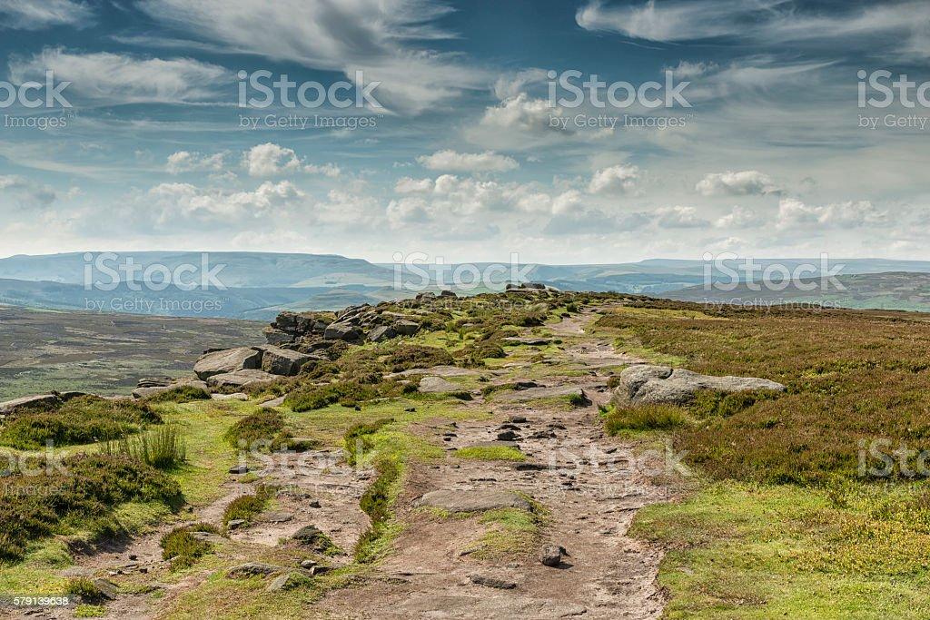 The Peaks stock photo