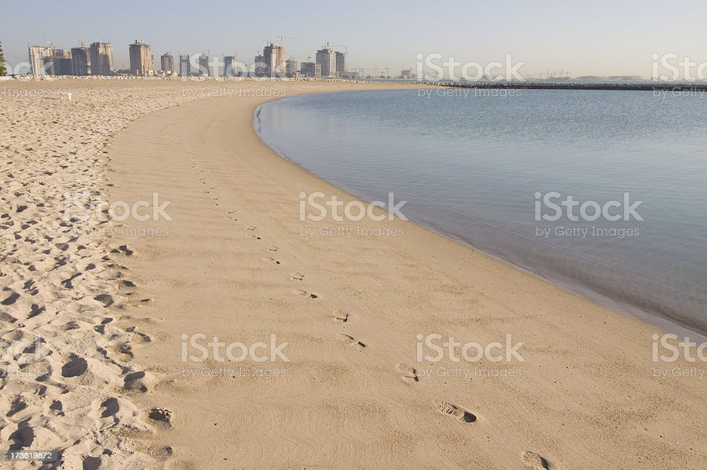 The Pearl of Doha royalty-free stock photo