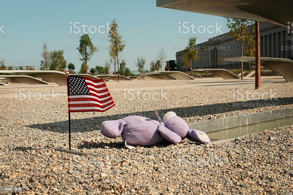 The Pentagon Memorial royalty-free stock photo