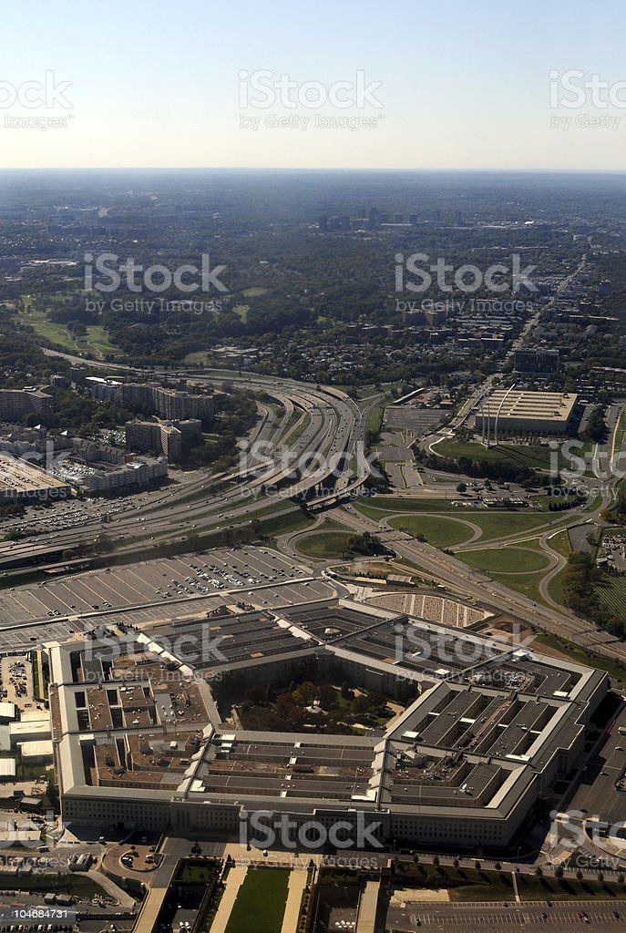 The Pentagon royalty-free stock photo