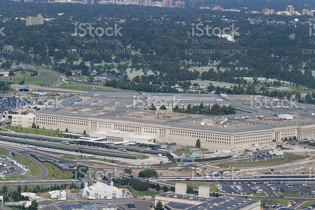 The Pentagon stock photo