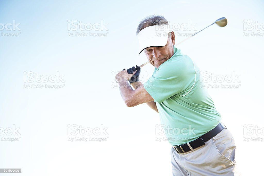 The perfect approach to a shot stock photo