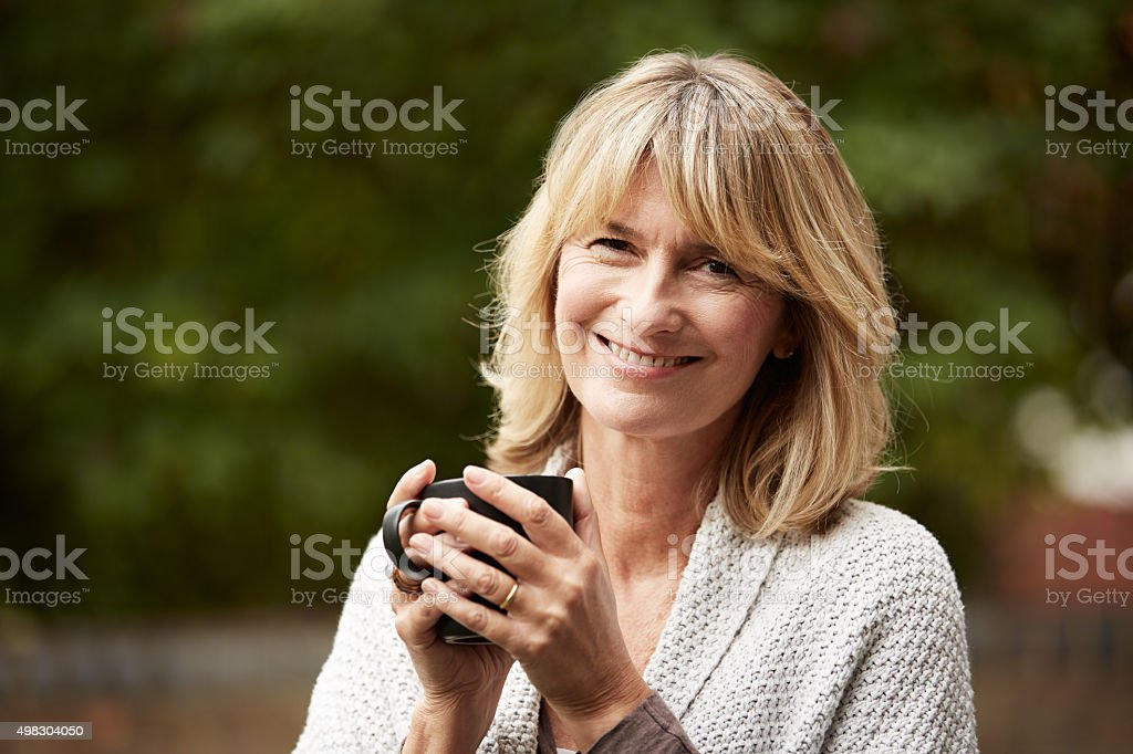 The perfect blend on a perfect day stock photo