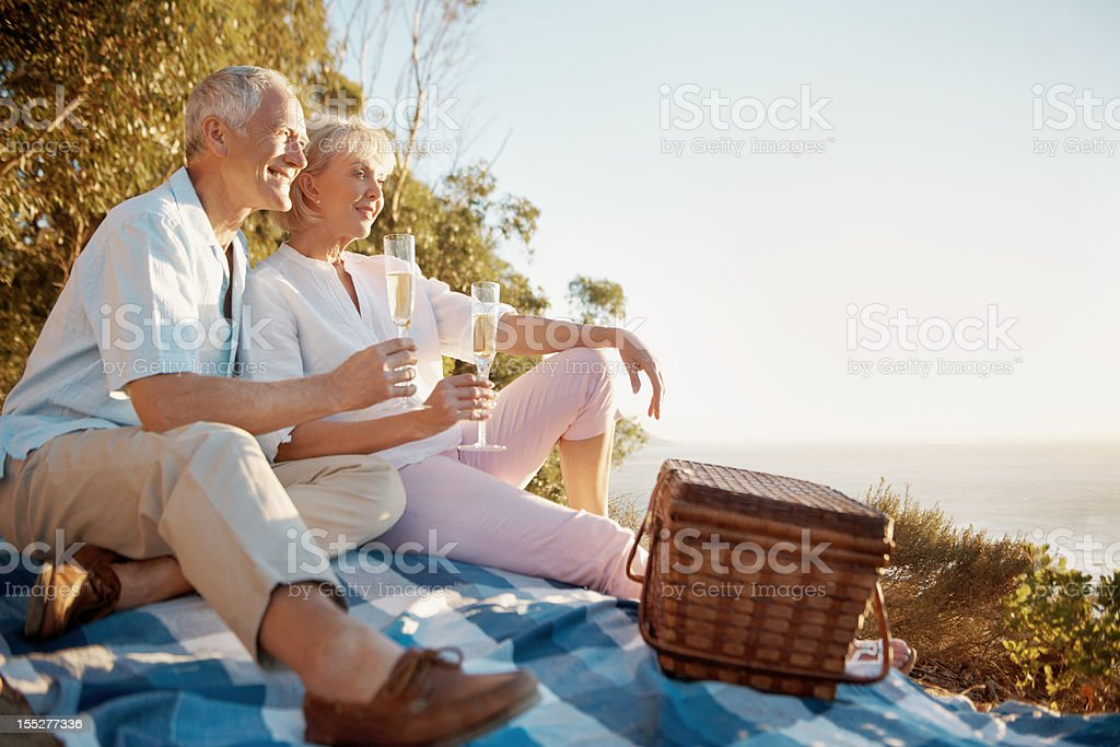 The perfect day for love royalty-free stock photo