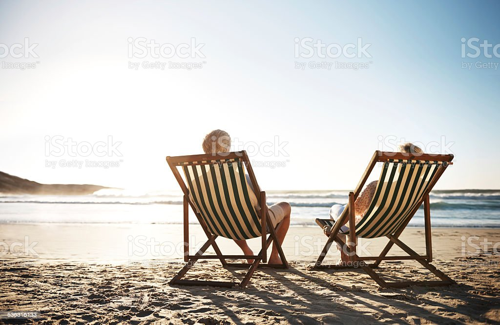 The perfect day stock photo