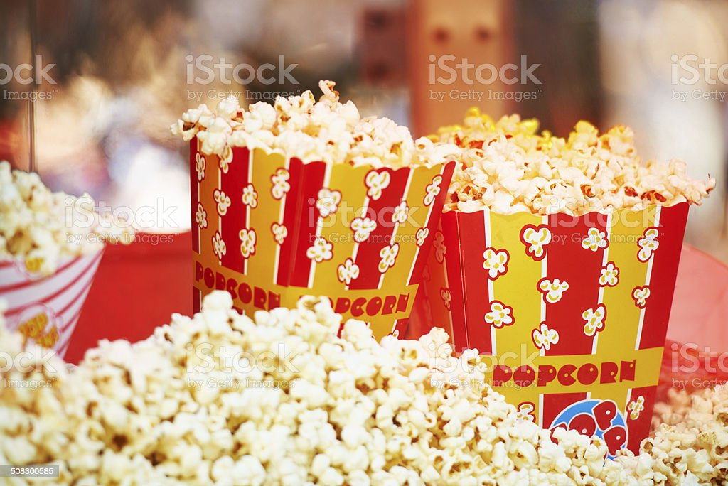 The perfect entertainment snack stock photo