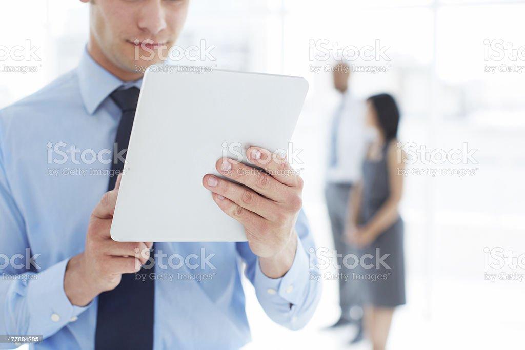 The perfect executive's companion royalty-free stock photo