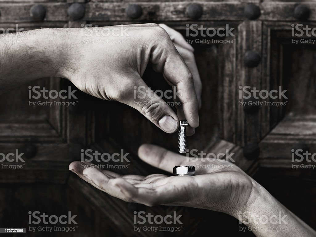 The perfect fit royalty-free stock photo