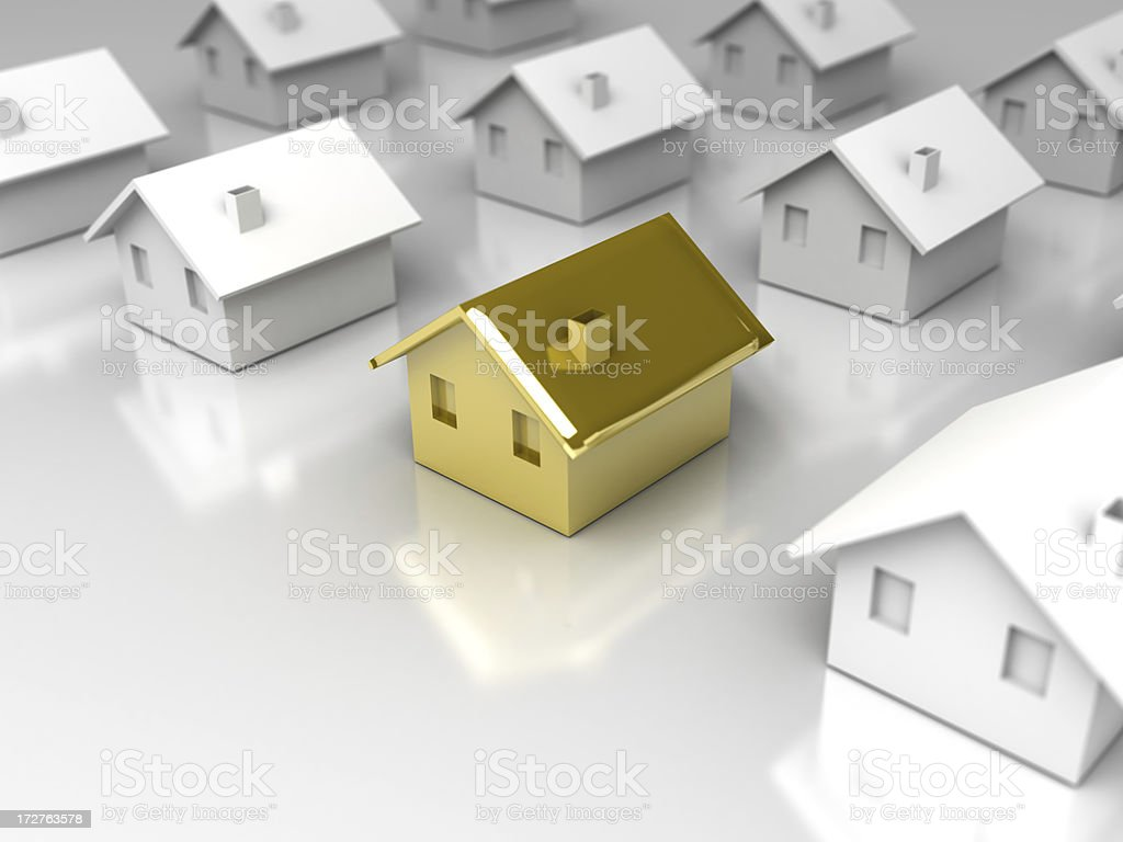 the perfect house stock photo