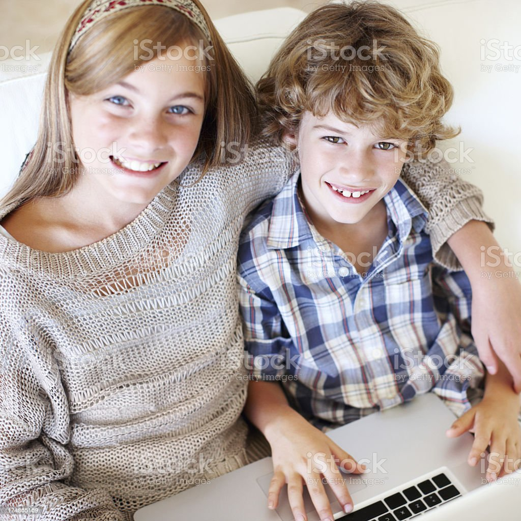 The perfect kids royalty-free stock photo