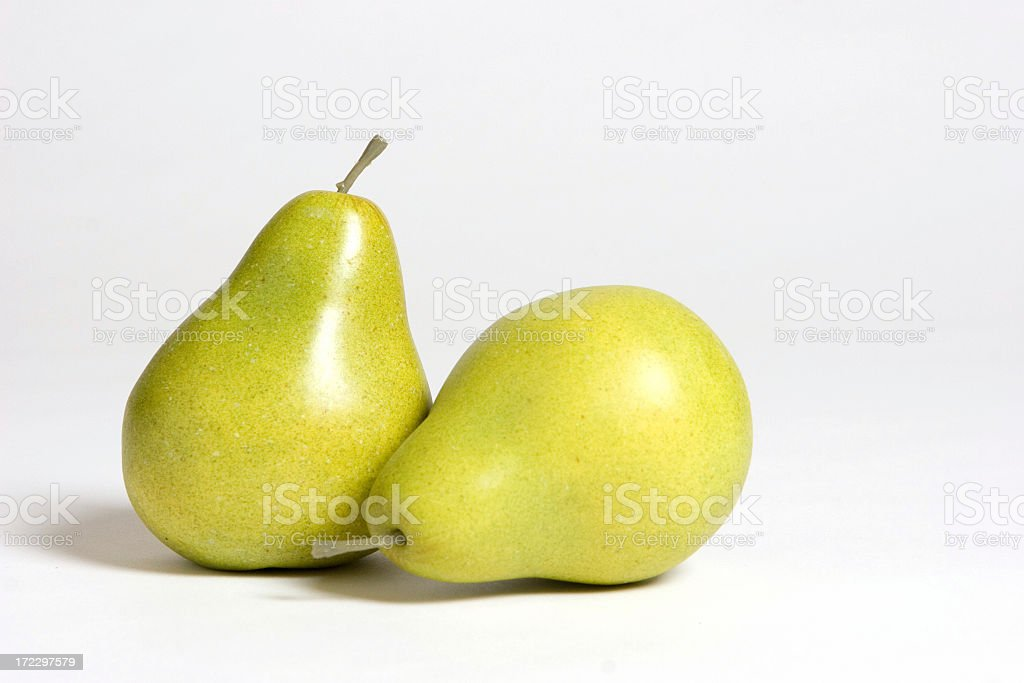 The perfect pear royalty-free stock photo