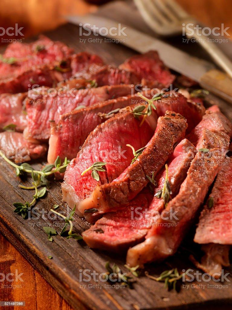 The Perfect Prime Rib Steak stock photo