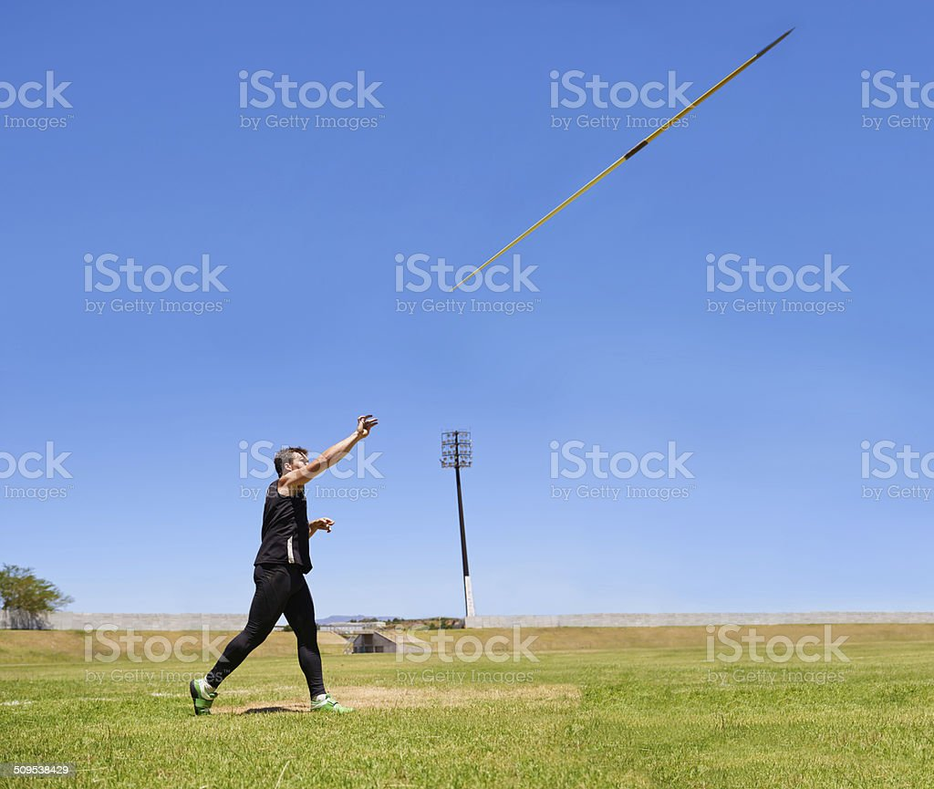 The perfect release stock photo