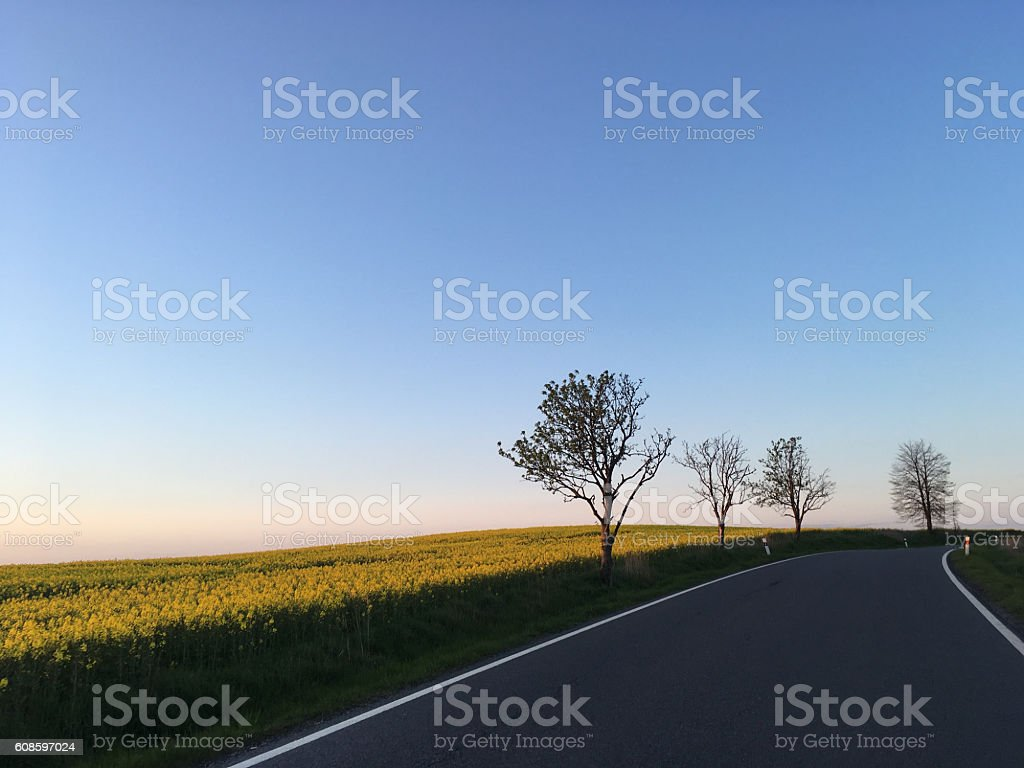 The Perfect Road stock photo