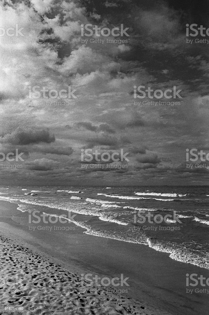The perfect storm stock photo