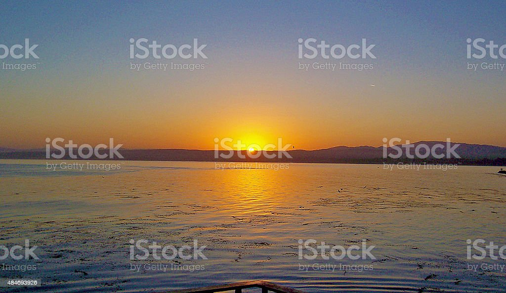 The Perfect Sunset stock photo