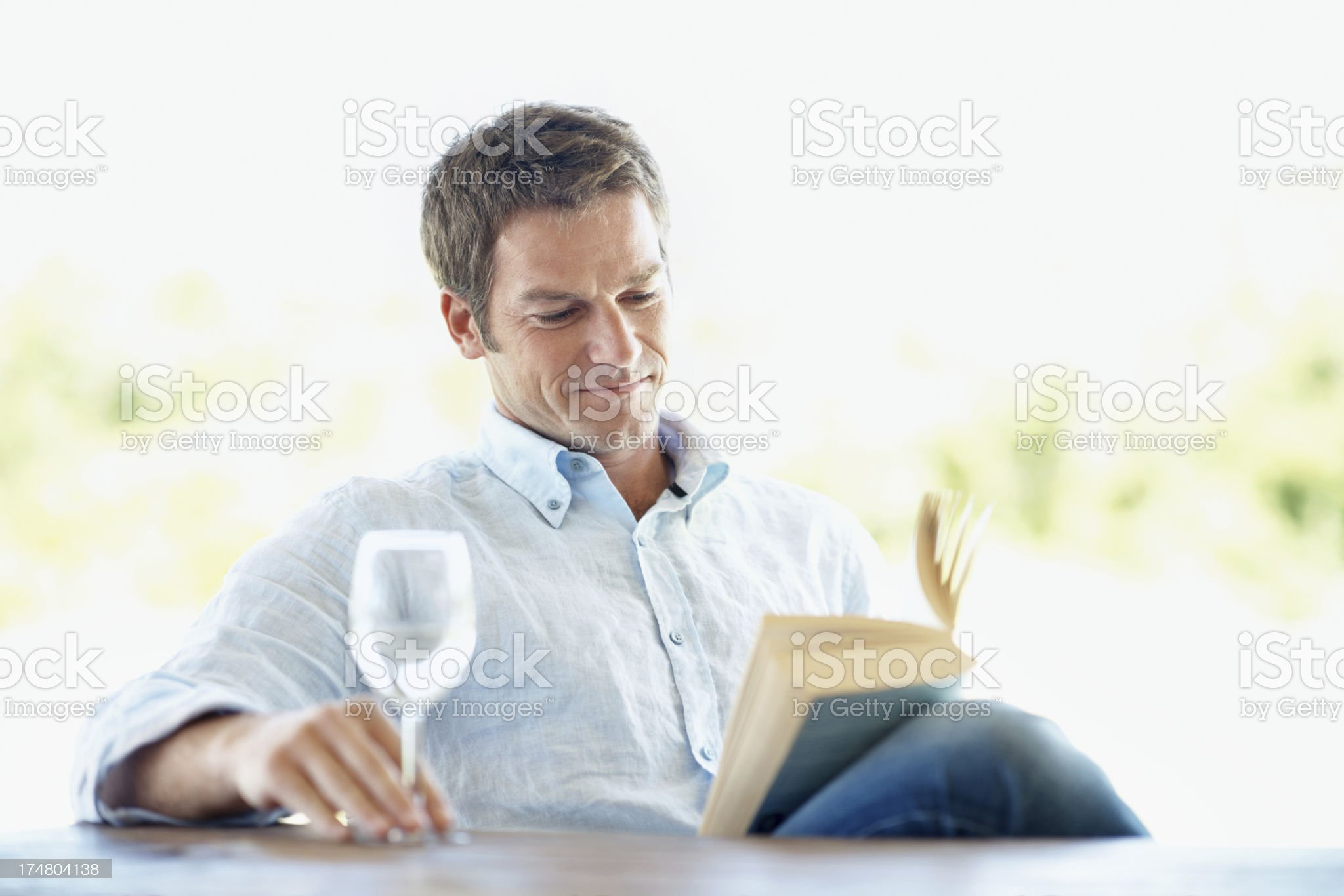 The perfect way to relax royalty-free stock photo