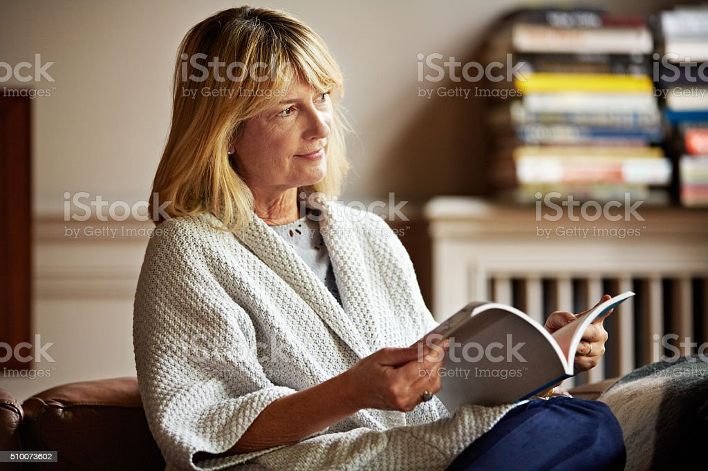 The perfect way to spend an afternoon stock photo