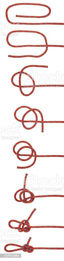 The Perfection Loop Knot royalty-free stock photo