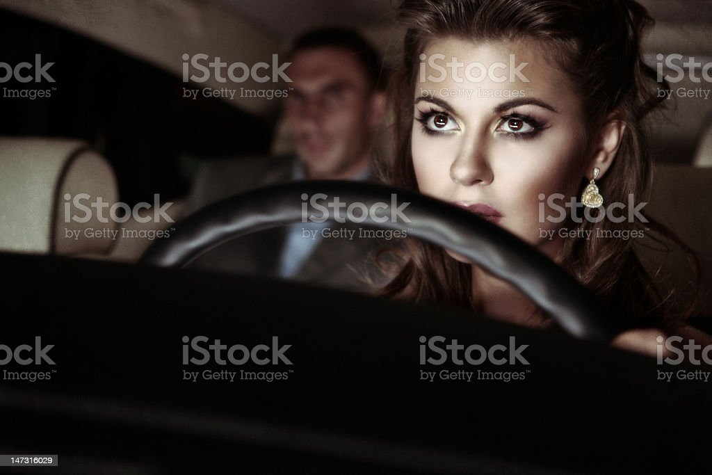 The personal driver royalty-free stock photo