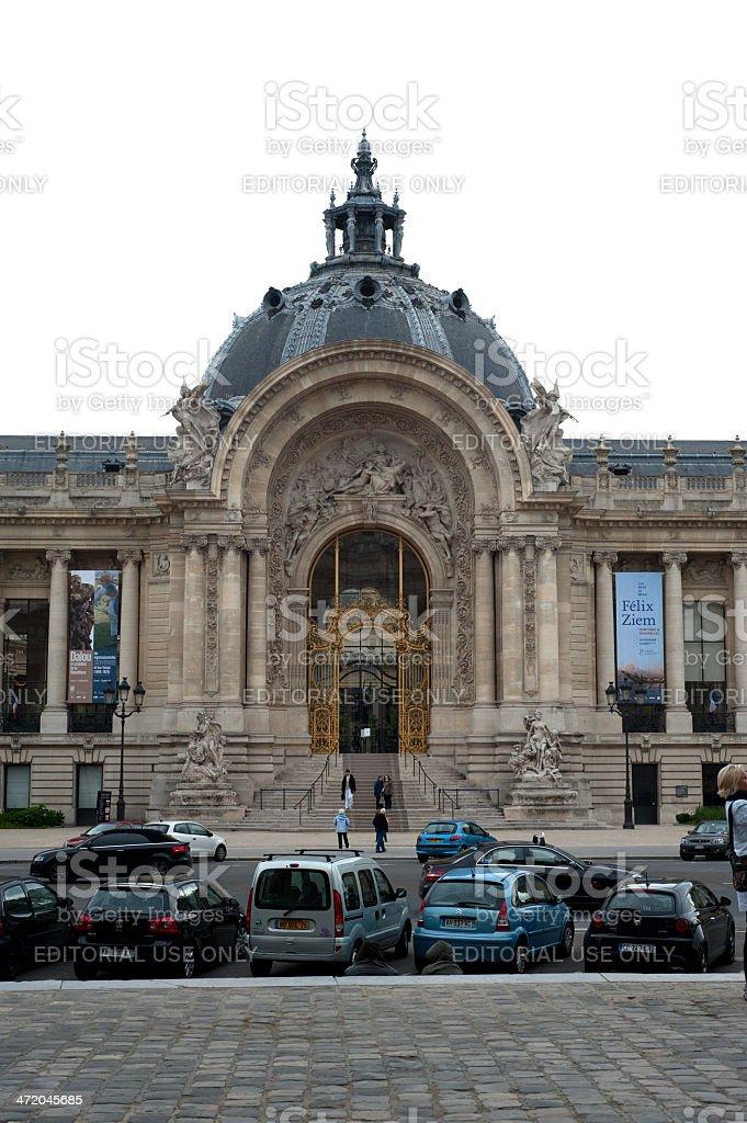The Petit Palais stock photo