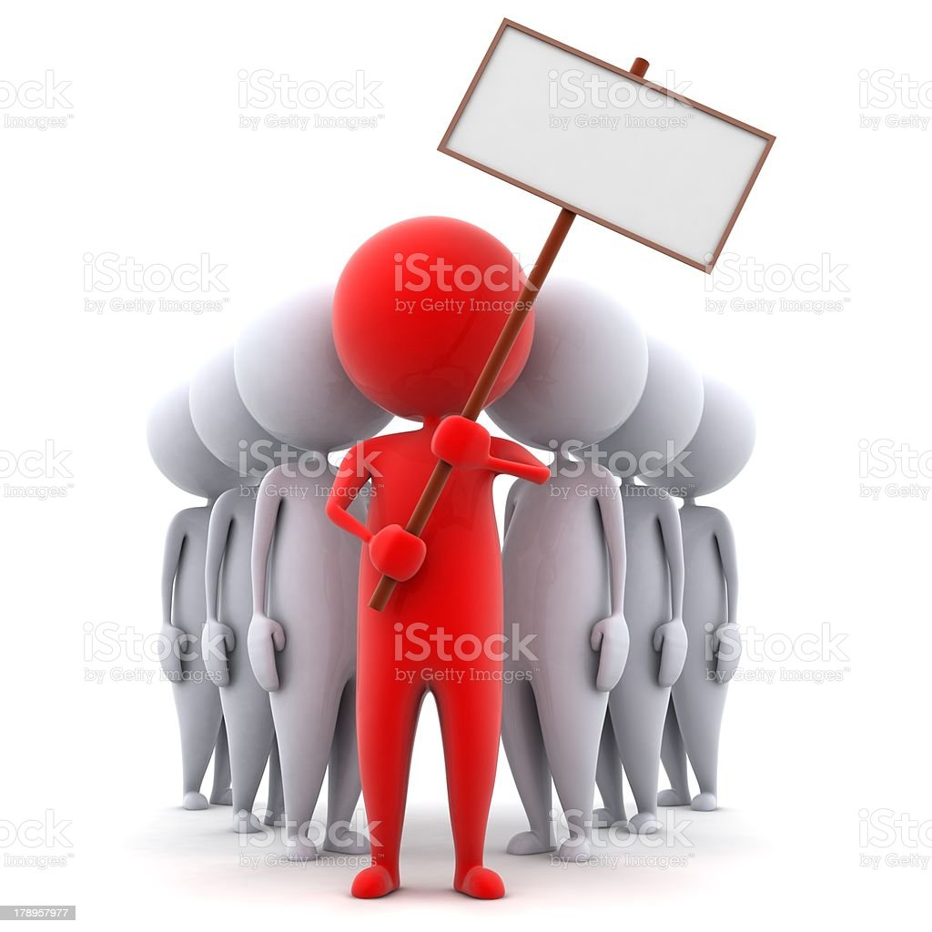 The petition royalty-free stock photo