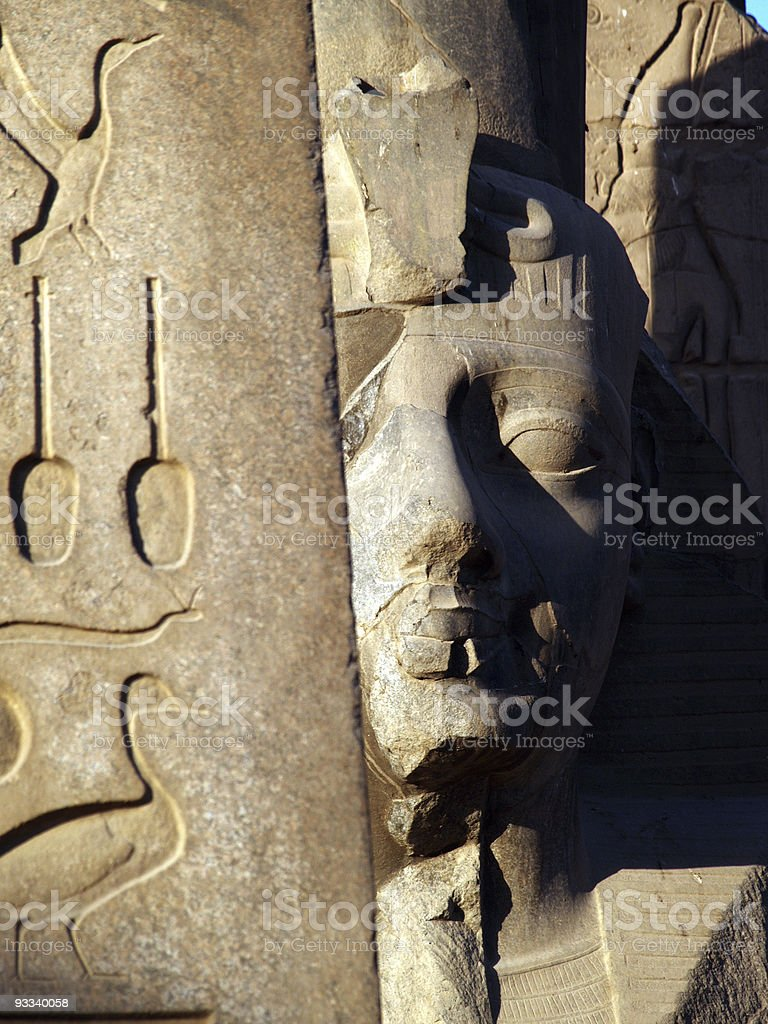 The Pharaoh royalty-free stock photo