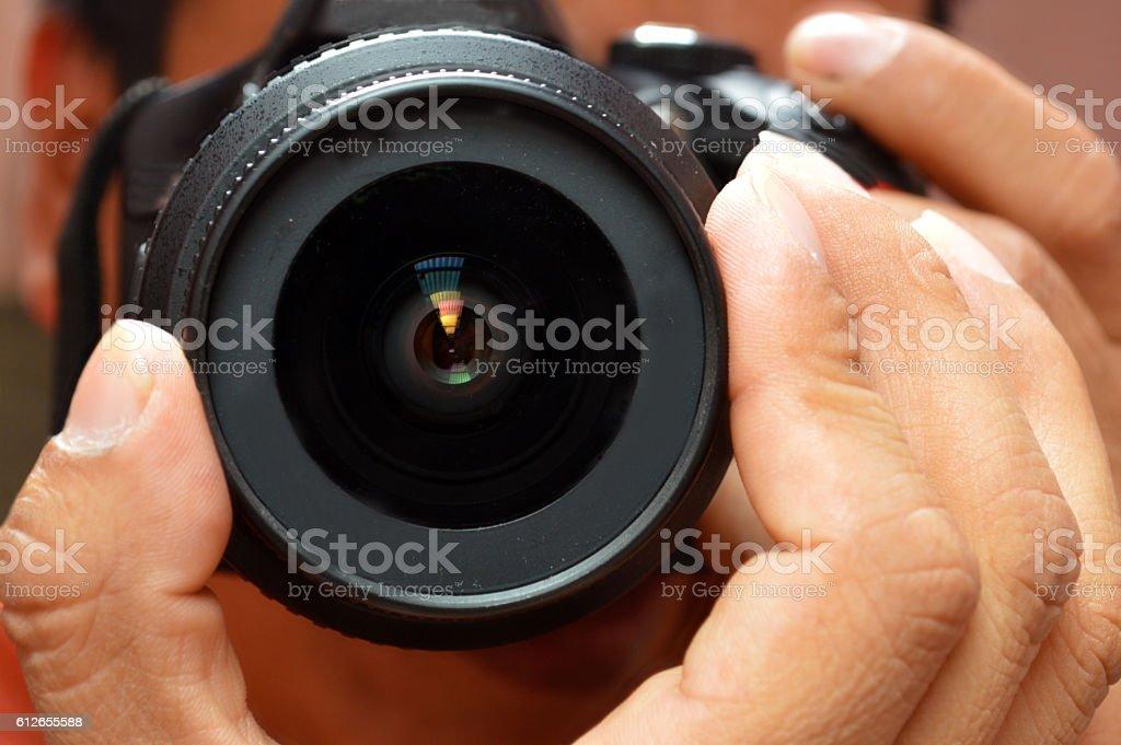The Photographer's Eye stock photo