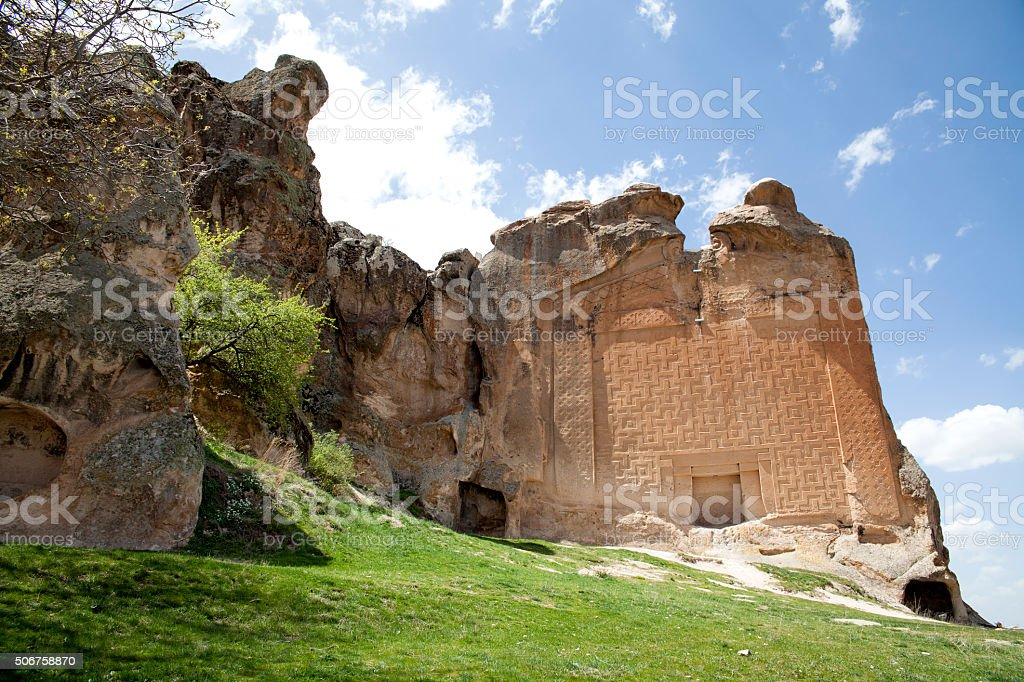 The Phrygia valley, Afyon, Turkey stock photo