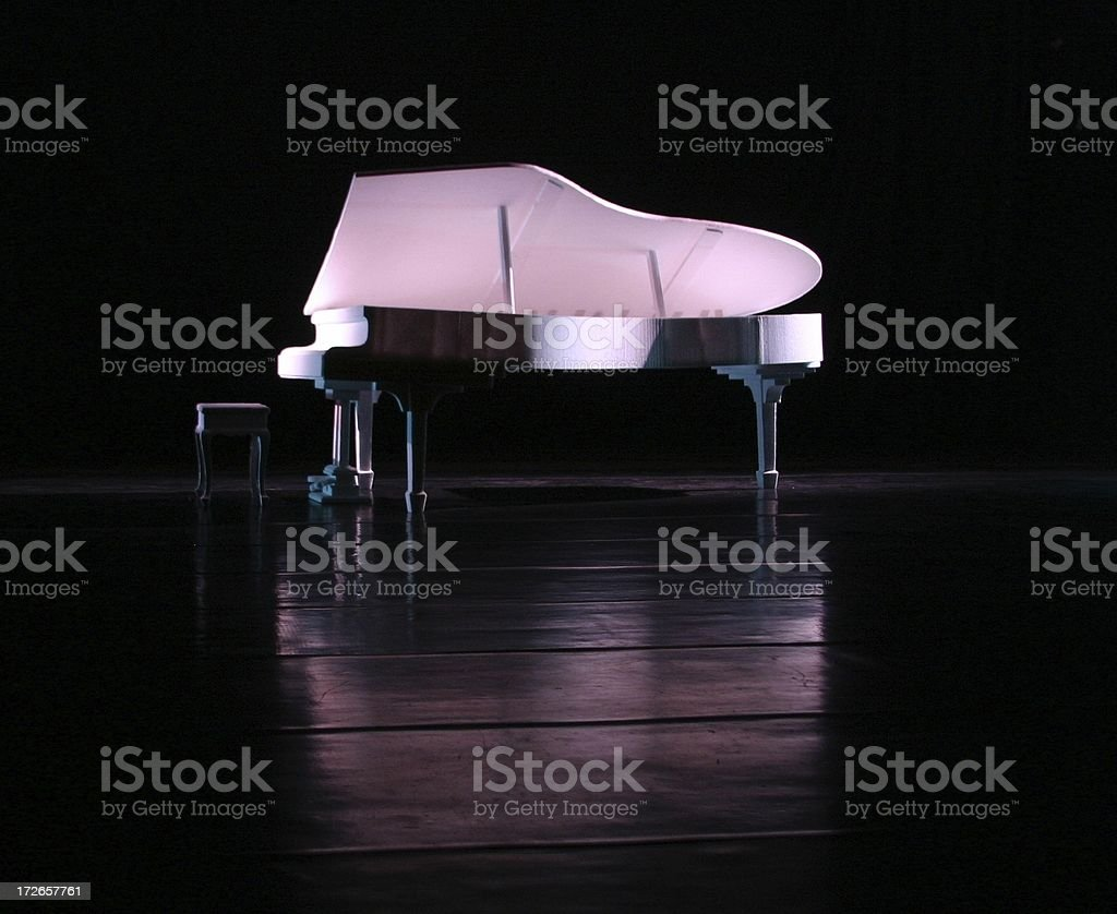 The piano royalty-free stock photo