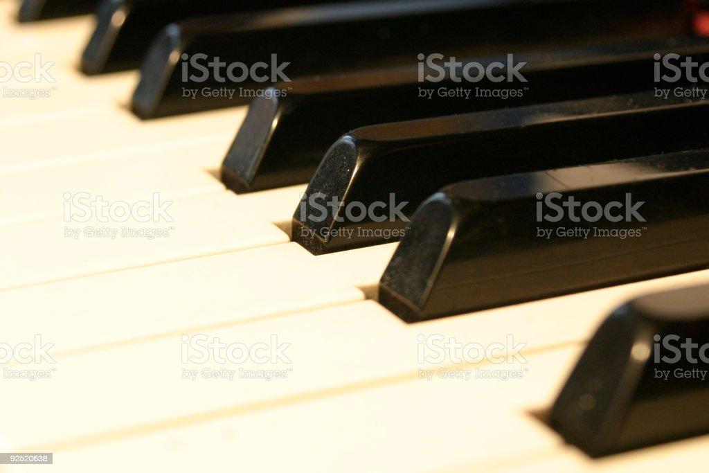 The Piano royalty-free stock photo