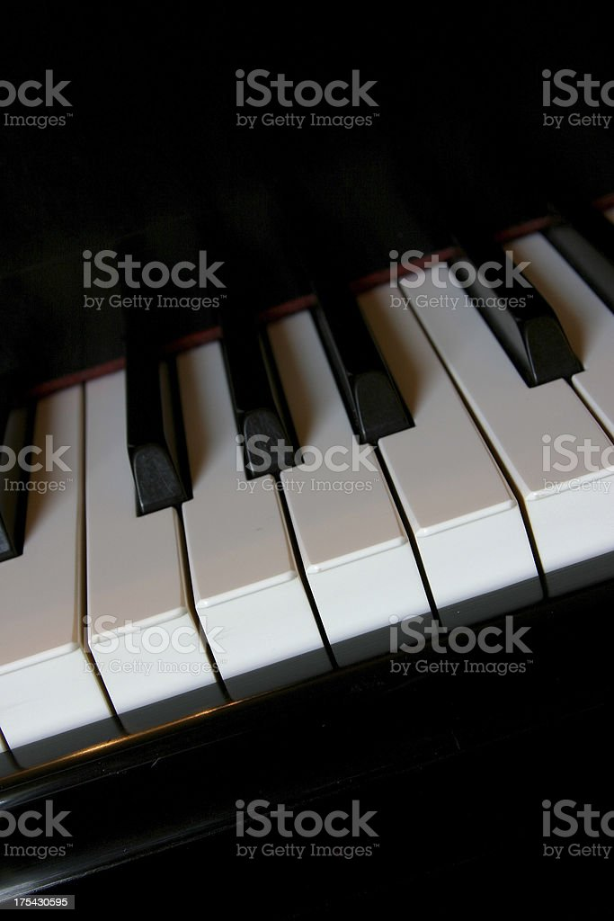 The Piano Room (group and series 1) stock photo