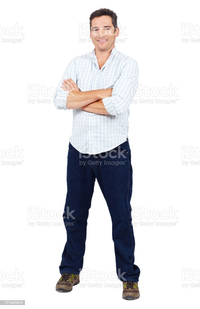 The picture of confidence stock photo