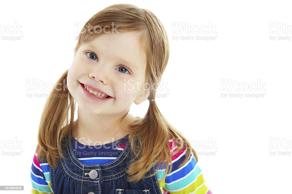 The picture of innocence royalty-free stock photo